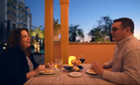 Outdoor Dining at Grande Dunes